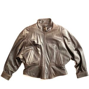 Women's leather jacket w/ Thinsulate lining